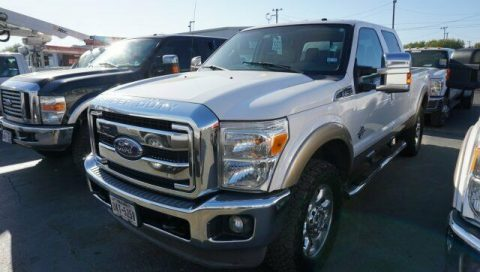 well equipped 2013 Ford F 250 Lariat crew cab for sale