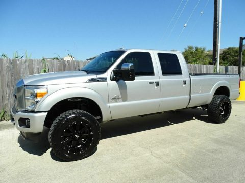 well equipped 2013 Ford F 350 Lariat crew cab for sale