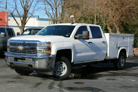 great worker 2015 Chevrolet Silverado 2500 Crew Cab for sale