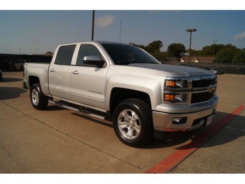 loaded 2015 Chevrolet Silverado 1500 LT crew cab for sale