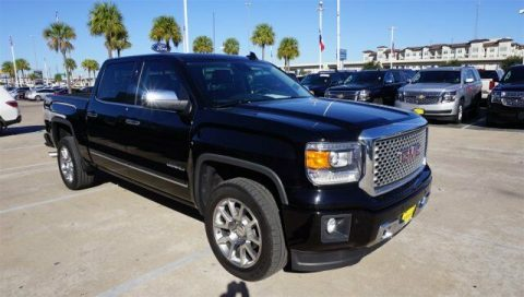 low mileage 2015 GMC Sierra 1500 Denali crew cab for sale