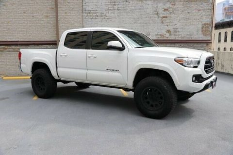 low miles 2016 Toyota Tacoma TRD crew cab for sale