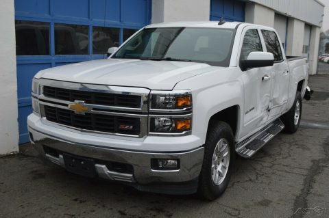 needs repair 2015 Chevrolet Silverado 1500 2LT crew cab for sale