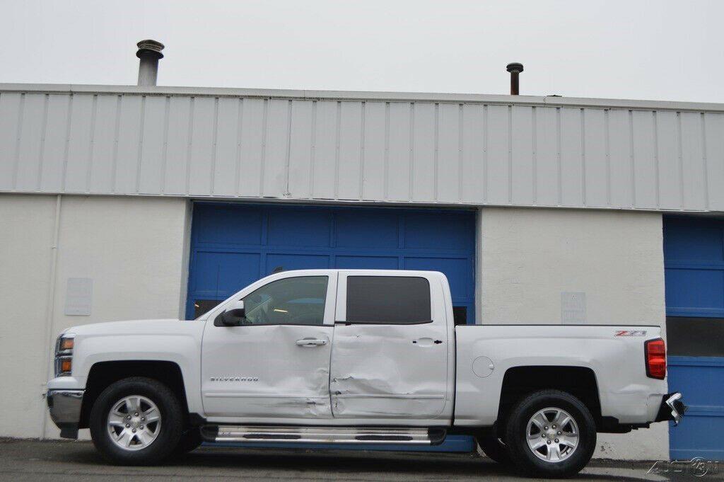 needs repair 2015 Chevrolet Silverado 1500 2LT crew cab