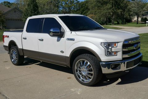 nice and clean 2015 Ford F 150 King Ranch crew cab for sale