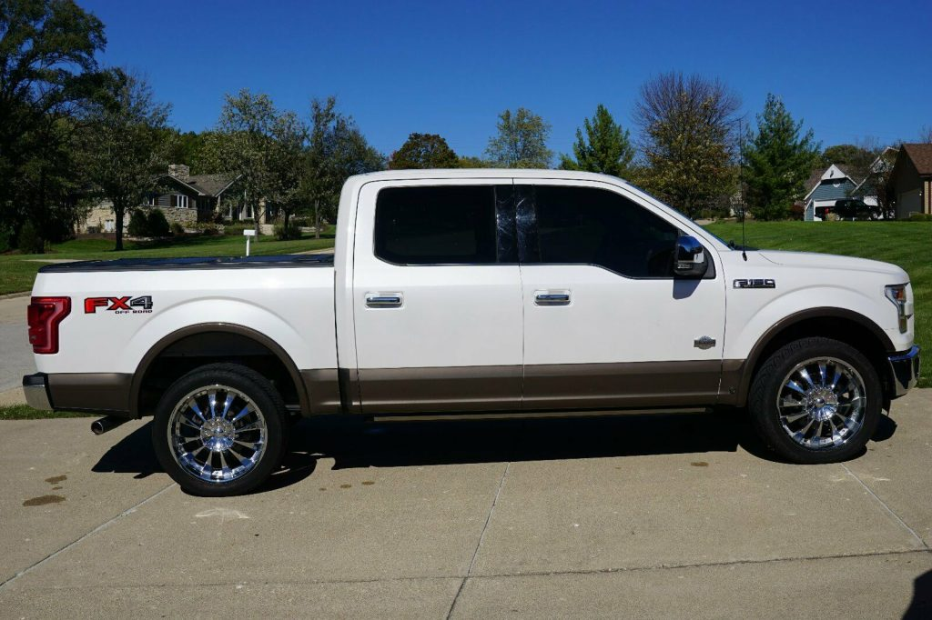 nice and clean 2015 Ford F 150 King Ranch crew cab