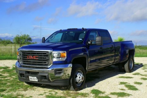 very low miles 2015 GMC Sierra 3500 crew cab for sale