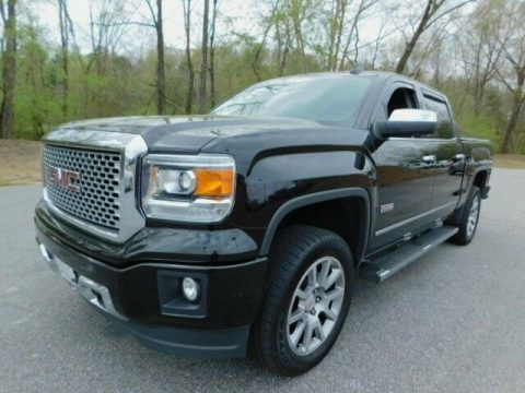 well equipped 2015 GMC Sierra 1500 SLT Crew Cab for sale