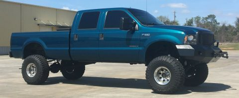 badass 2000 Ford F 350 XLT pickup crew cab for sale