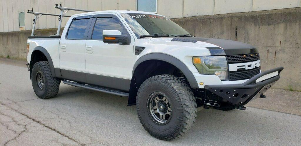 highly built 2013 Ford F 150 SVT Raptor crew