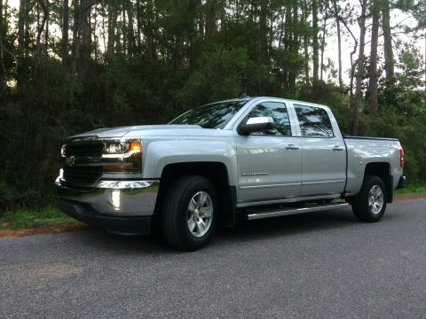 low mileage 2016 Chevrolet Silverado 1500 LT crew cab for sale