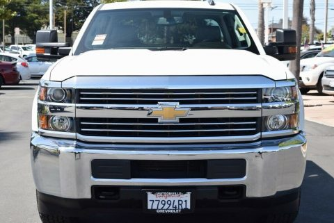 low miles 2016 Chevrolet Silverado 2500 HD crew cab for sale