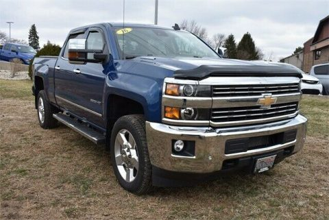 well equipped 2016 Chevrolet Silverado 2500 LTZ crew cab for sale