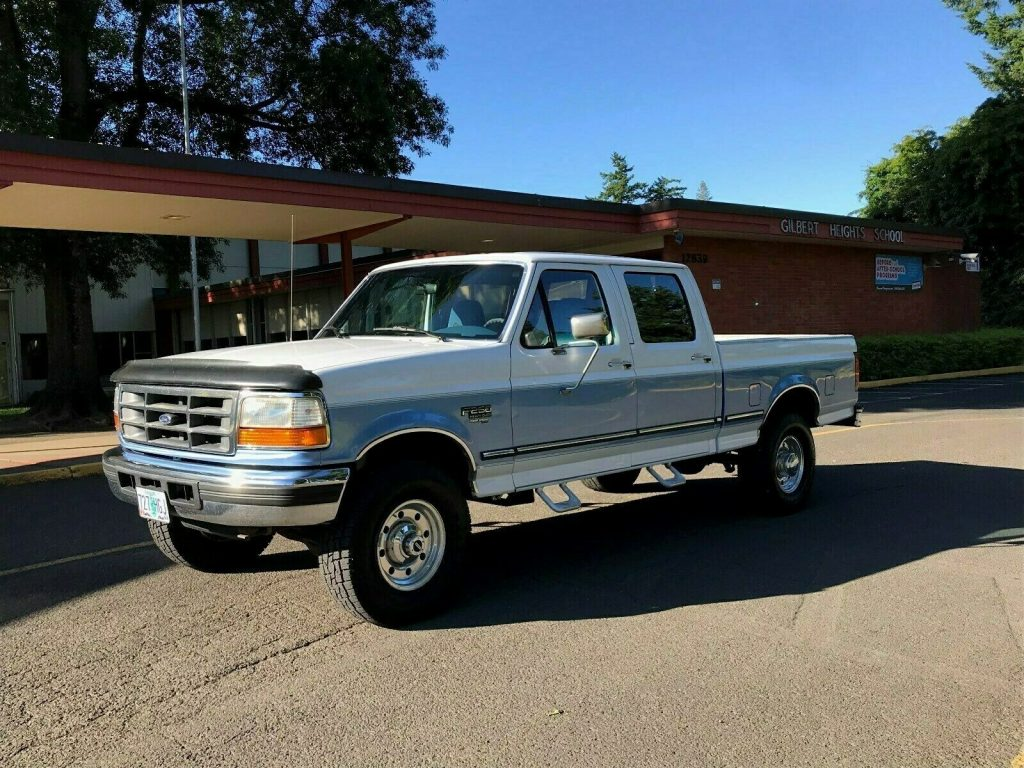 well maintained 1997 Ford F 250 XLT HD crew cab