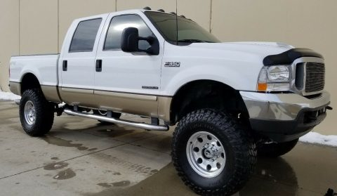 excellent shape 2001 Ford F 350 Lariat Leather Package crew cab for sale