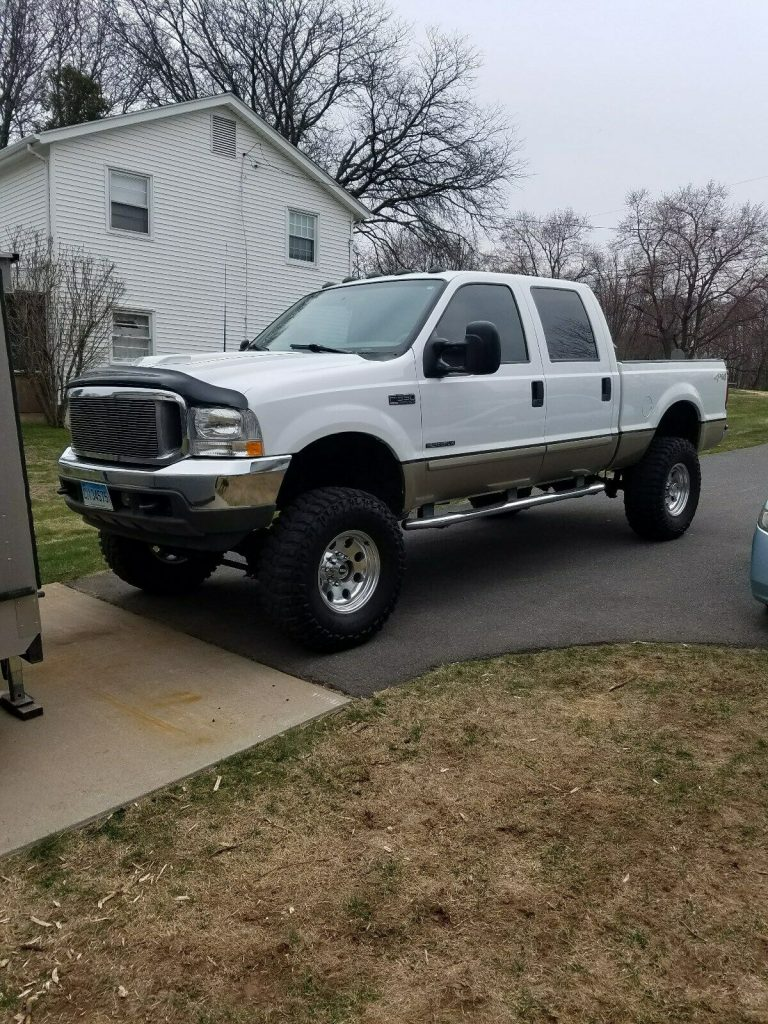 excellent shape 2001 Ford F 350 Lariat Leather Package crew cab