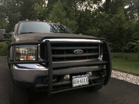 great running 2001 Ford F 250 crew cab for sale