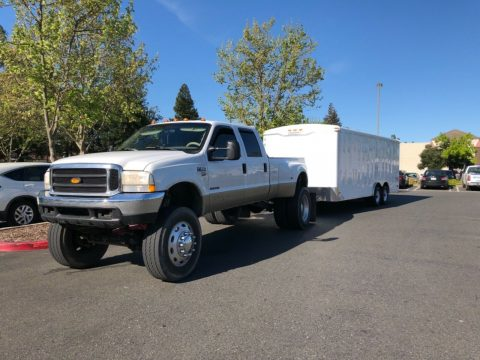 many upgrades 2000 Ford F 350 SuperDuty crew cab for sale