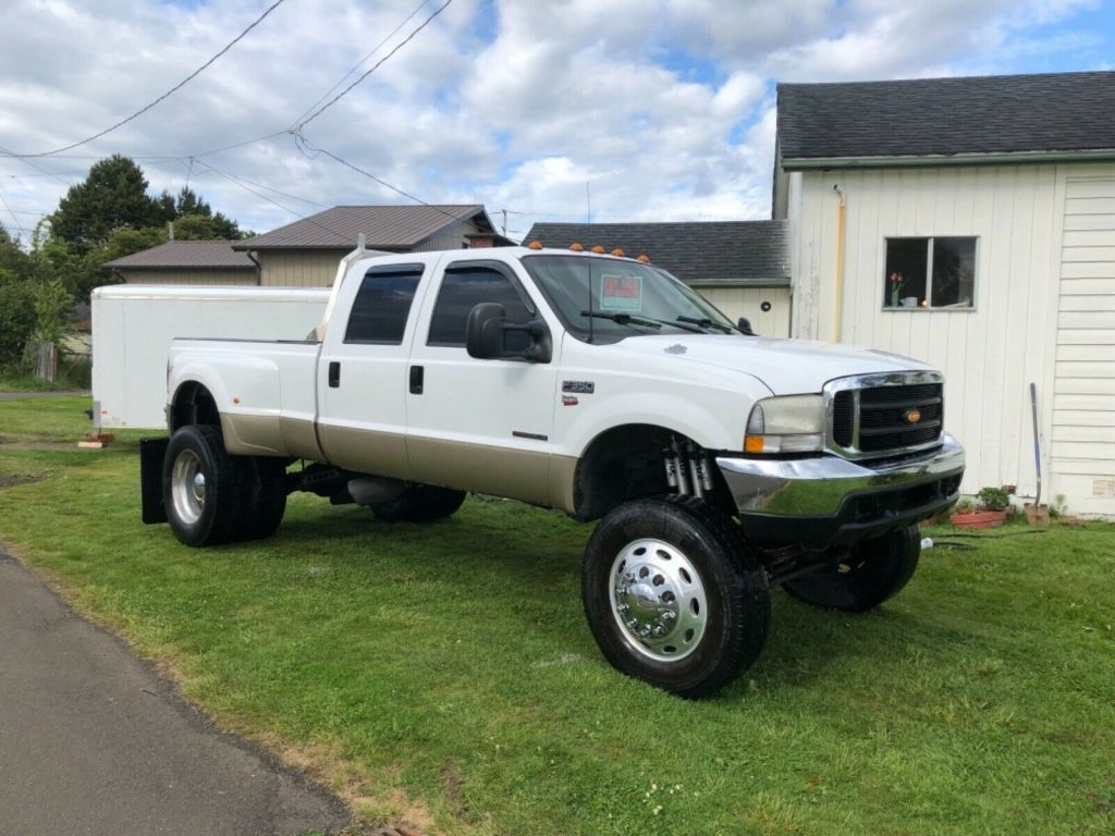 many upgrades 2000 Ford F 350 SuperDuty crew cab