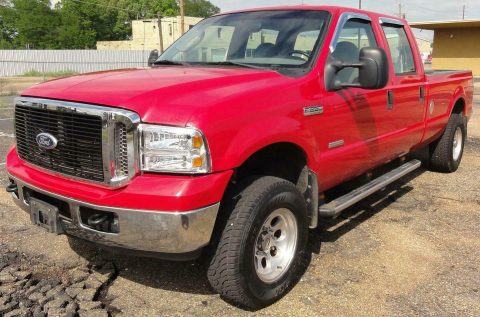 very nice 2006 Ford F 250 XL/XLT crew cab for sale