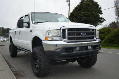 well equipped 2002 Ford F 350 Lariat crew cab for sale