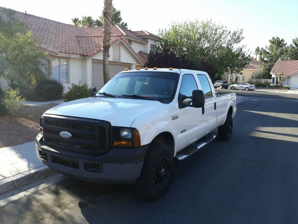 excellent running 2006 Ford F 250 XL crew cab