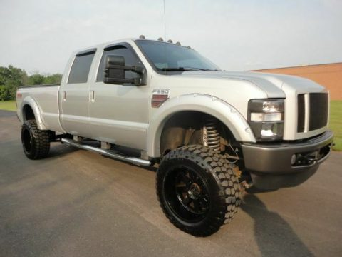 many upgrades 2008 Ford F 350 Super Duty crew cab for sale