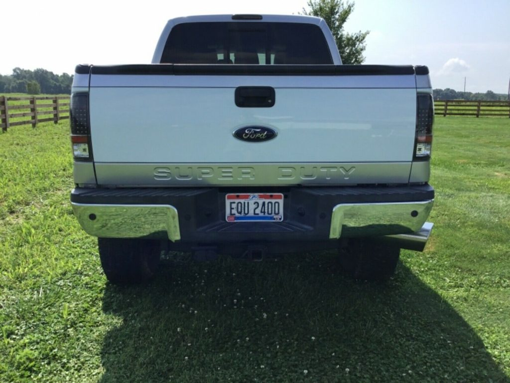 6 inch lift 2012 Ford F 250 Lariat Super Duty crew cab