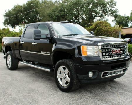 loaded 2011 GMC Sierra 2500 Denali crew cab for sale