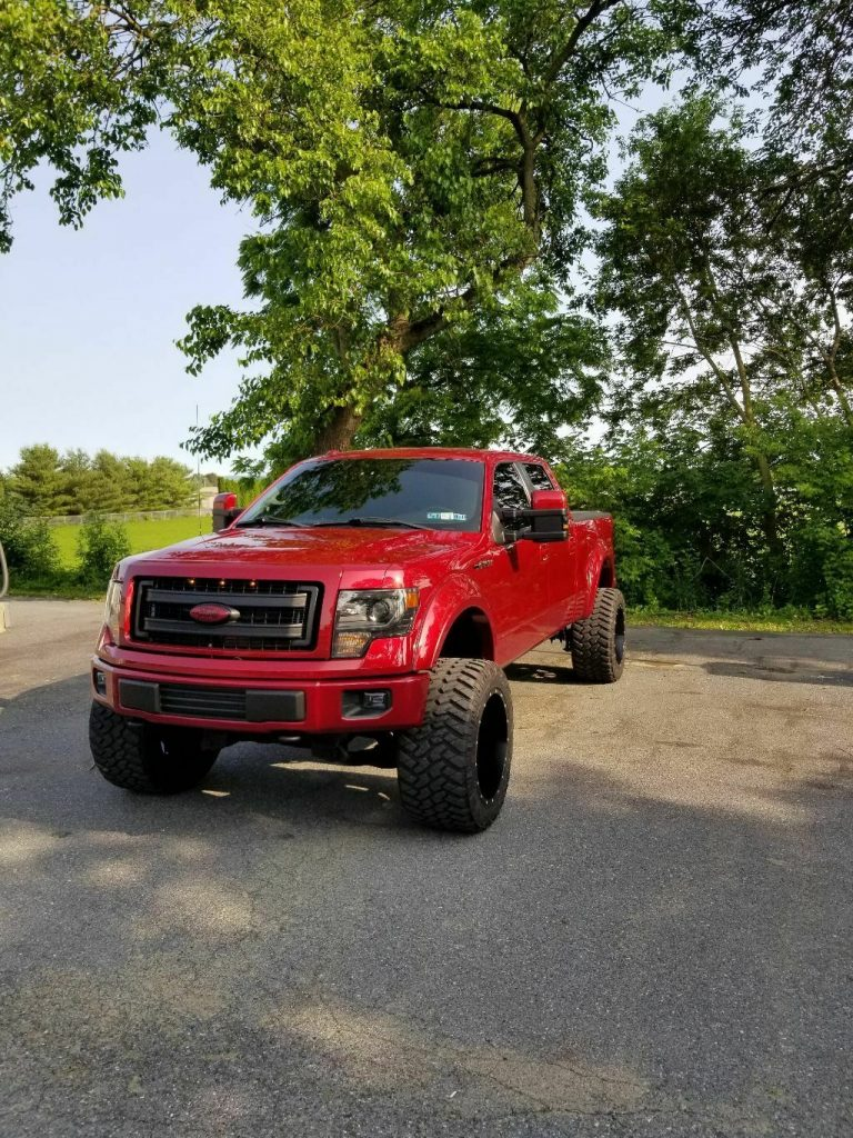 lots of mods 2013 Ford F 150 Fx4 crew cabs