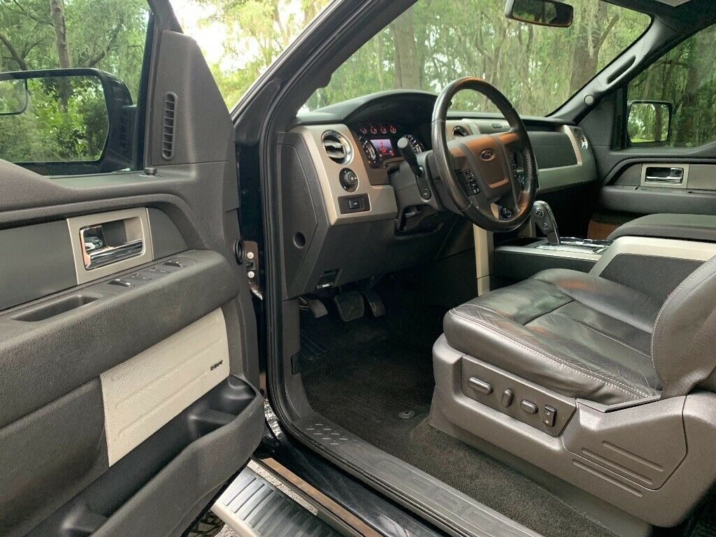 low miles 2013 Ford F 150 FX4 crew cabs