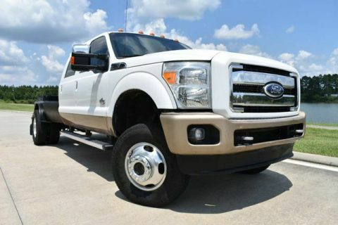 very clean 2012 Ford F 350 King Ranch crew cab for sale
