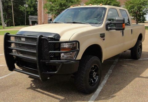 well equipped 2008 Ford F 250 FX4 XLT crew cab for sale
