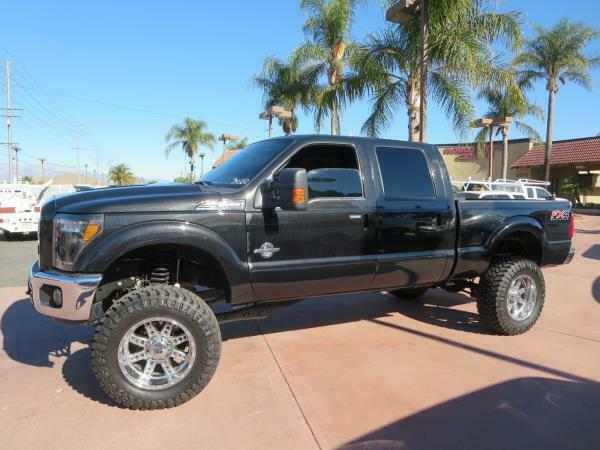 well equipped 2012 Ford F-250 LARIAT crew cab