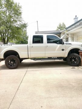 well upgraded 2013 Ford F 250 Lariat Performance crew cab for sale