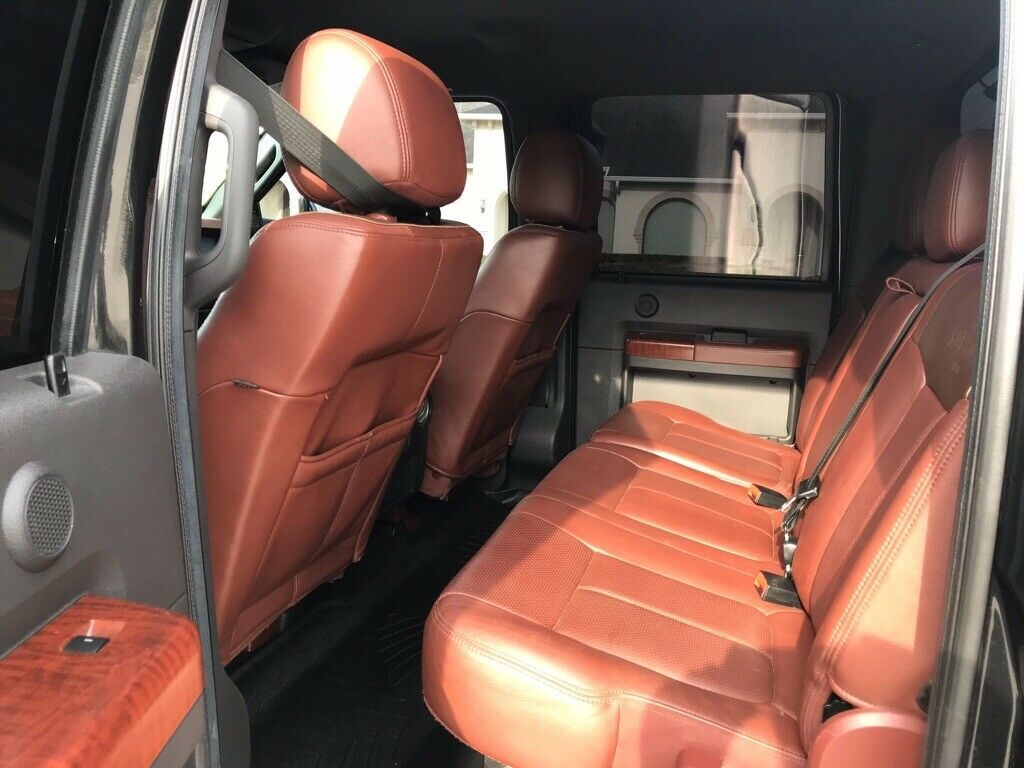 fully loaded 2014 Ford F 350 King Ranch crew cab