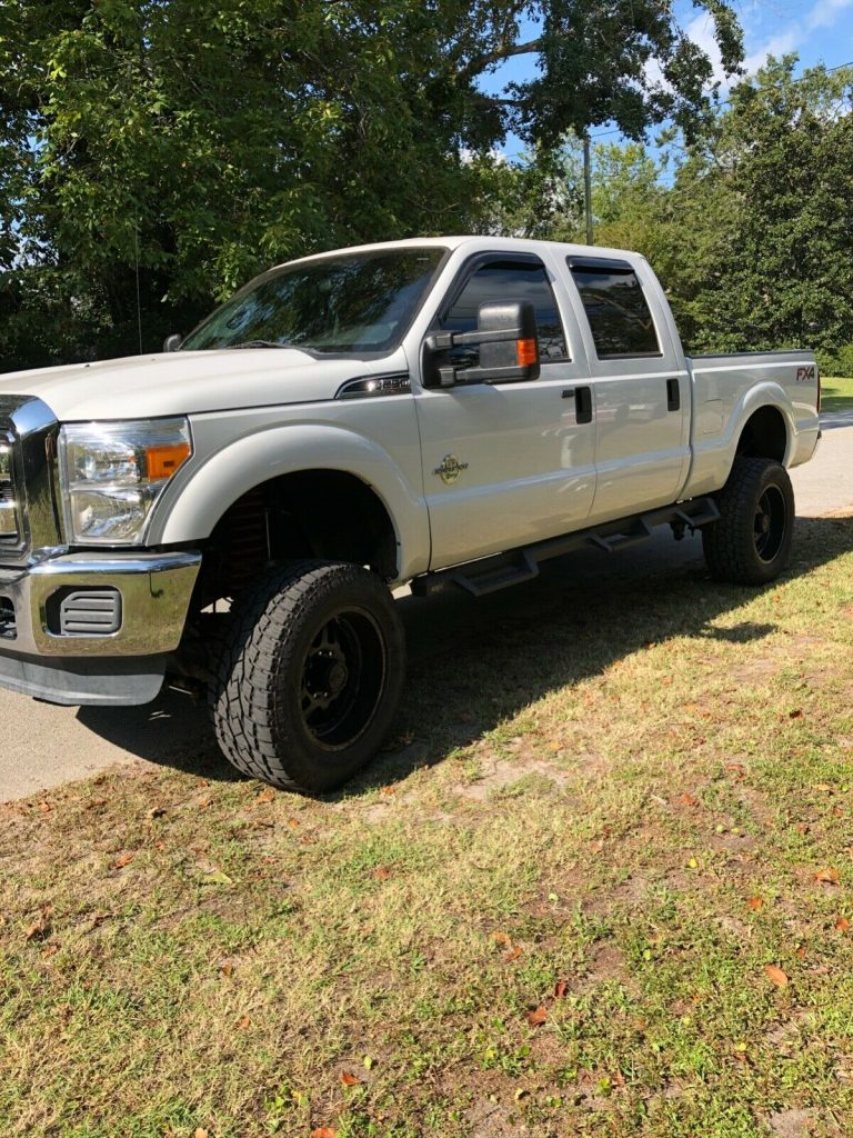 great running 2014 Ford F 250 Xlt crew cab