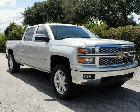 great shape 2014 Chevrolet Silverado 1500 LT Z71 crew cab for sale