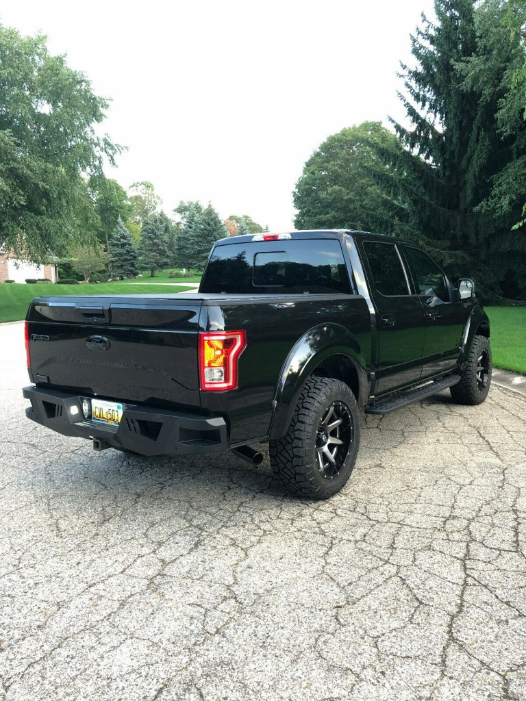 loaded 2015 Ford F 150 XLT crew cab