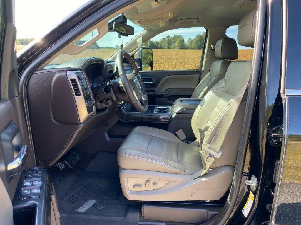 loaded 2015 GMC Sierra 2500 Denali crew cab