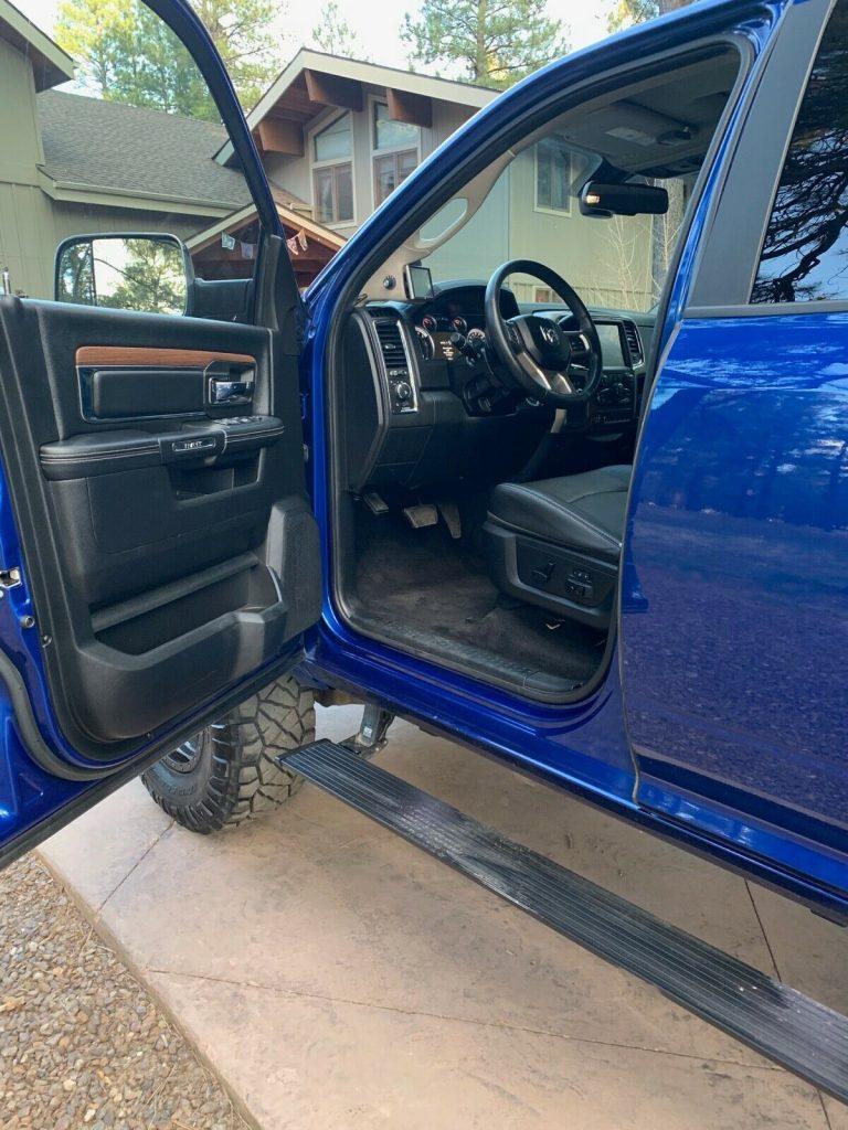 low miles 2015 Ram 2500 Laramie crew cab