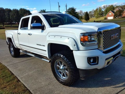 well equipped 2015 GMC Sierra 2500 Denali HD crew cab for sale