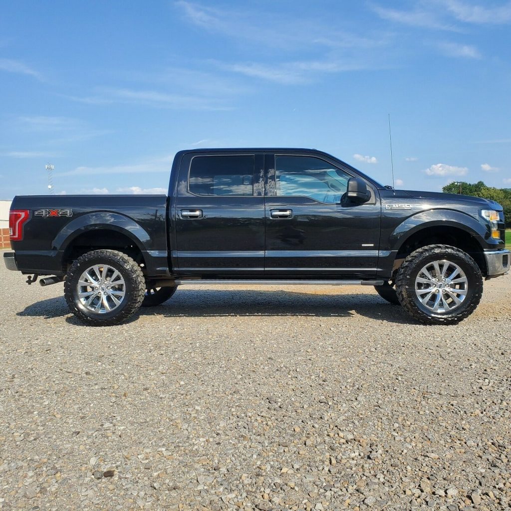 well serviced 2015 Ford F 150 crew cab
