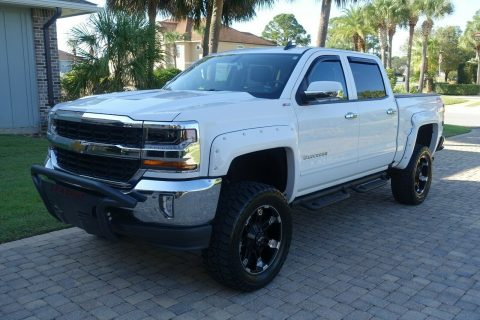 clean 2016 Chevrolet Silverado 1500 American Luxury Coach crew cab for sale