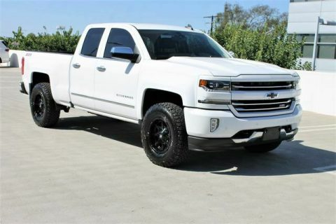 low miles 2016 Chevrolet Z71 LTZ crew cab for sale