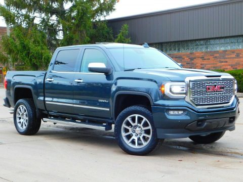 low miles 2017 GMC Sierra 1500 Denali Edition crew cab for sale