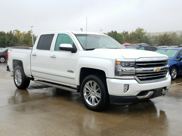 well equipped 2016 Chevrolet Silverado 1500 High Country crew cab