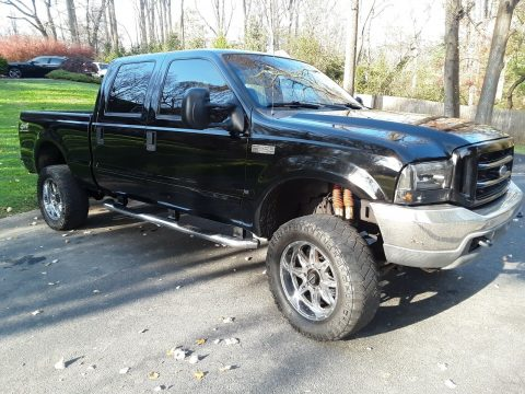 clean 2003 Ford F 250 Lariat crew cab for sale