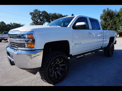 great shape 2018 Chevrolet Silverado 2500 crew cab for sale