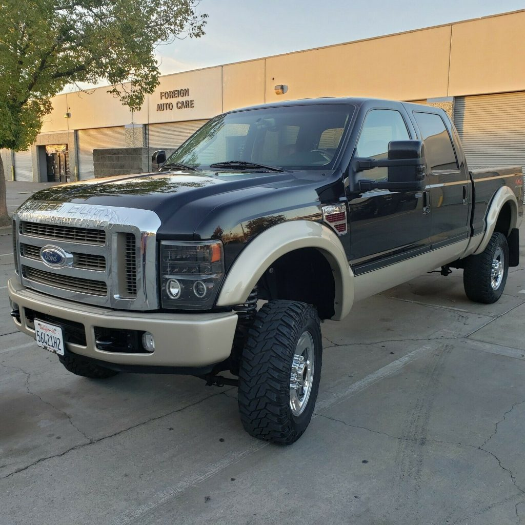 great working 2008 Ford F 350 King Ranch crew cab